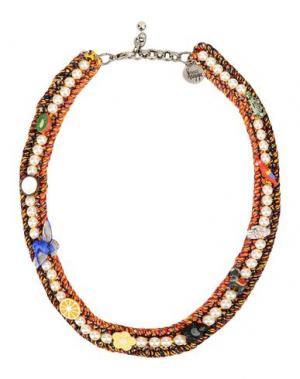 Ожерелье VENESSA ARIZAGA. Цвет: коралловый