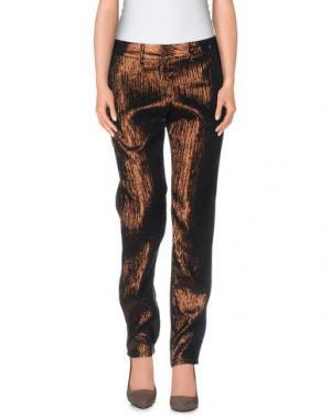 Повседневные брюки MASSIMO ALBA. Цвет: бронзовый