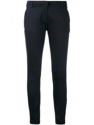 Прямые брюки Eleventy. Цвет: синий