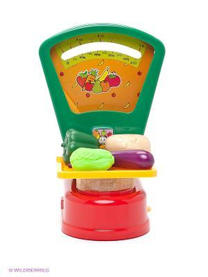 Игровой набор Супермаркет весы Winner Toys. Цвет: зеленый, красный