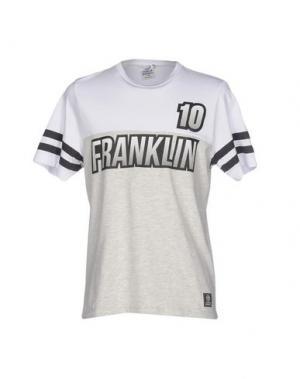 Футболка FRANKLIN & MARSHALL. Цвет: светло-серый