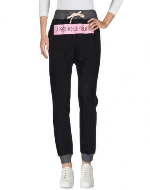 Повседневные брюки THINGS ON EARTH. Цвет: черный