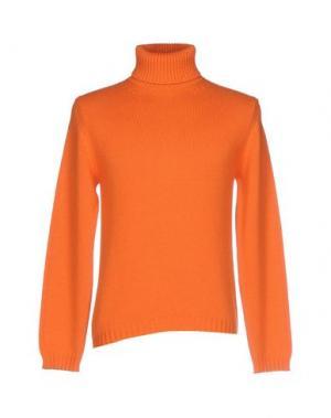 Водолазки CANALI. Цвет: оранжевый