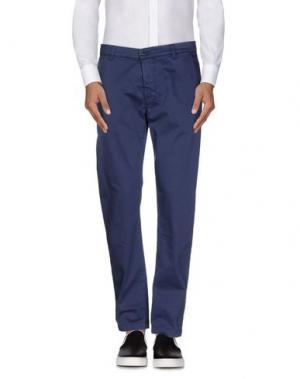 Повседневные брюки DNM-BRAND. Цвет: синий