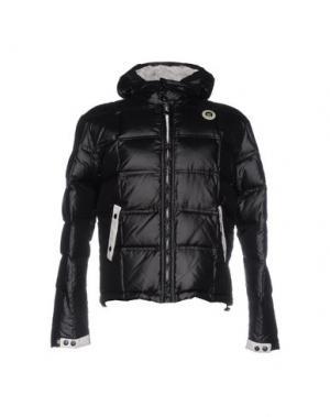 Куртка JOE RIVETTO. Цвет: черный