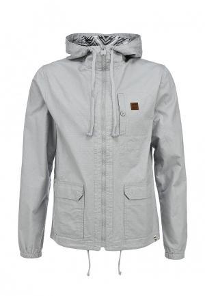 Куртка HoodieBuddie. Цвет: серый