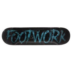 Дека для скейтборда  Original Team Edition Camo Cobalt Footwork. Цвет: черный,голубой