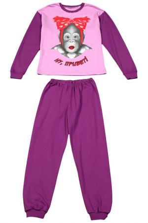 Пижама M&D. Цвет: сиреневый