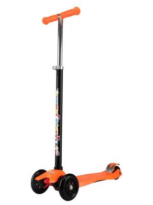 Детский трехколесный самокат MS-950 Fly maxi Funny Scoo. Цвет: оранжевый
