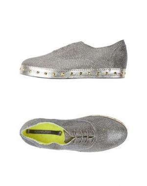 Обувь на шнурках ROSAMUNDA. Цвет: платиновый