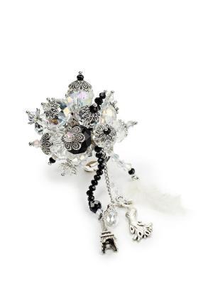 Перстень ручной работы Сверкающий Париж SEANNA. Цвет: белый