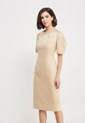 Платье Pepen. Цвет: бежевый