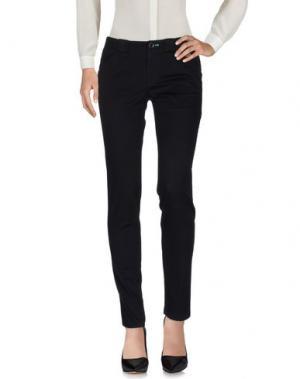 Повседневные брюки BOSS ORANGE. Цвет: черный