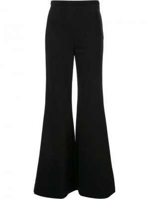 Классические расклешенные брюки Rosetta Getty. Цвет: чёрный