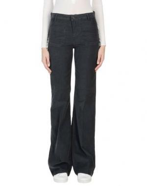 Повседневные брюки VANESSA BRUNO. Цвет: стальной серый