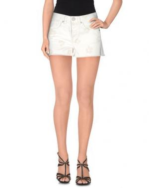Джинсовые шорты MARC BY JACOBS. Цвет: белый
