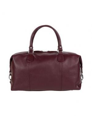 Дорожная сумка DOUCAL'S. Цвет: баклажанный