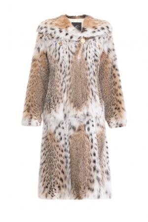 Шуба из меха рыси 154932 Pt Quality Furs. Цвет: разноцветный