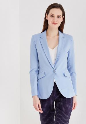 Пиджак Villagi. Цвет: голубой