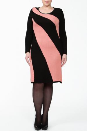 Платье Текстильная Мануфактура. Цвет: красный