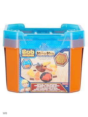 Боб-строитель Игровой набор Контейнер для строительства и песок Mattel. Цвет: синий