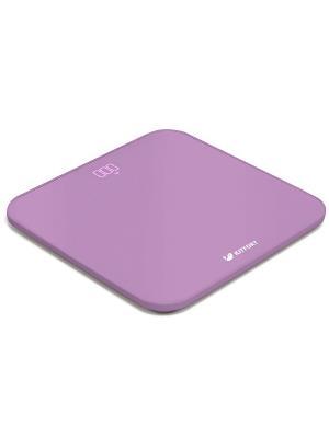 Весы напольные КТ-802-2 фиолетовый Kitfort. Цвет: фиолетовый