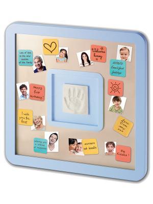 Доска для пожеланий с отпечатком Baby Art. Цвет: голубой