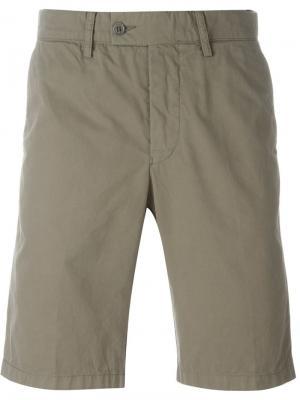 Классические шорты-чинос Aspesi. Цвет: коричневый