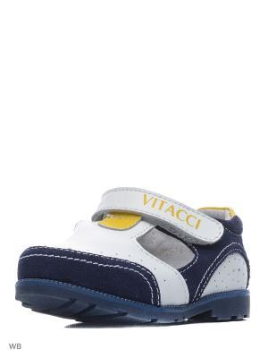 Туфли Vitacci. Цвет: белый