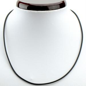 Шнурок для кулона арт. ШН-007 Бусики-Колечки. Цвет: черный