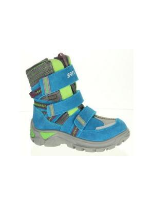 Ботинки Bartek. Цвет: голубой,серый,салатовый