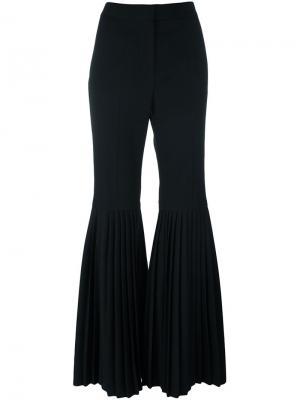 Расклешенные брюки Chellini Stella McCartney. Цвет: чёрный