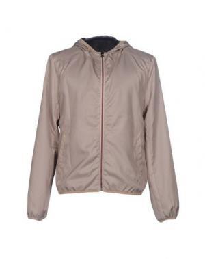 Куртка 40WEFT. Цвет: голубиный серый