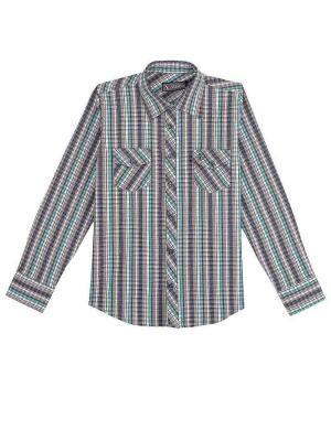 Рубашка Vitacci. Цвет: серо-зеленый