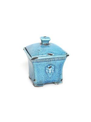 Шкатулка Gorgelur WESS. Цвет: синий