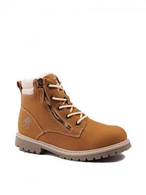 Ботинки Shuzzi. Цвет: бежевый