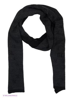 Шарф FOMAS. Цвет: темно-серый, черный