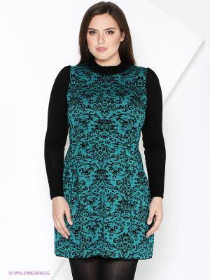 Платье Milana Style. Цвет: бирюзовый