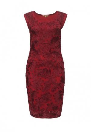 Платье Sweet Miss. Цвет: бордовый