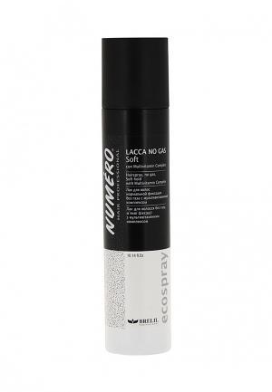 Лак для волос Brelil Professional. Цвет: черно-белый