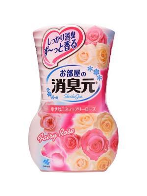 Жидкий дезодорант для комнаты Oheyano Shoshugen  аромат розы 400 мл KOBAYASHI. Цвет: прозрачный
