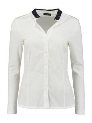 Блуза Peserico. Цвет: белый