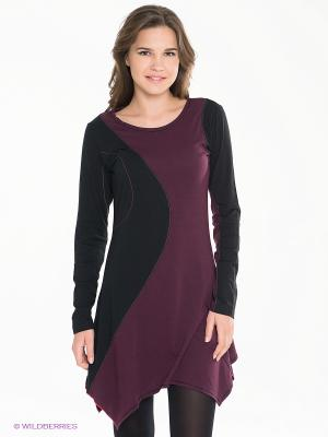 Платье Coline. Цвет: фиолетовый