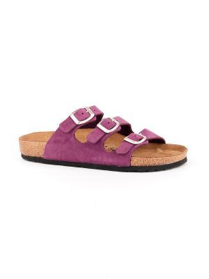 Пантолеты GELD. Цвет: темно-фиолетовый
