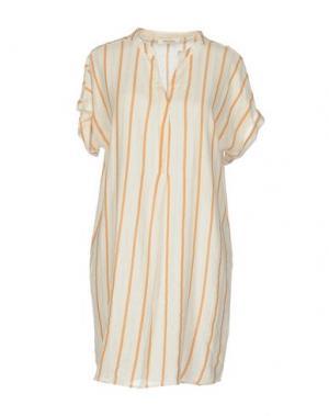 Короткое платье BELLA JONES. Цвет: слоновая кость