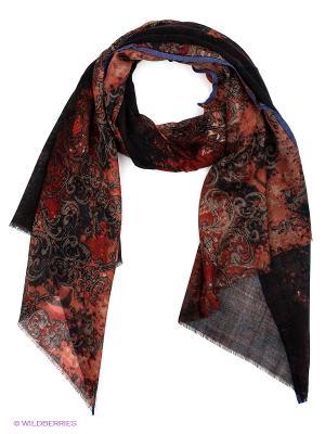Платок Venera. Цвет: черный, молочный, красный