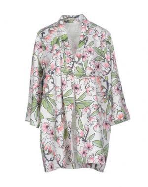 Легкое пальто EMMA COOK. Цвет: белый