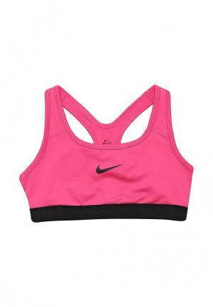 Топ спортивный Nike. Цвет: фуксия