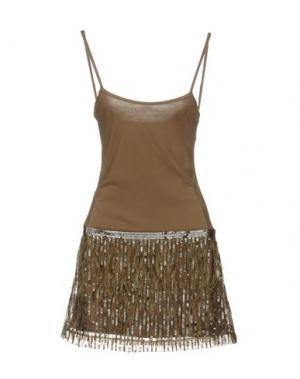 Короткое платье MET MIAMI COCKTAIL. Цвет: зеленый-милитари