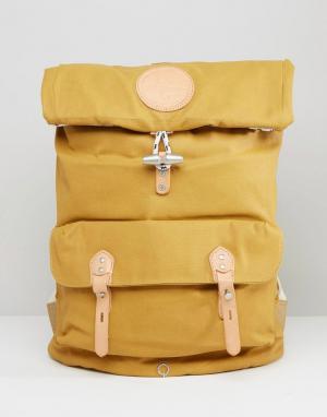 Stighlorgan Рюкзак из лакированной хлопковой парусины Reilly. Цвет: желтый